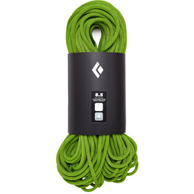 Black Diamond 8.5 Dry Rope 60m, green